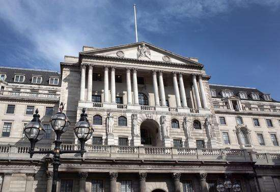 英国央行对无协议脱欧和经济下行风险发出警告