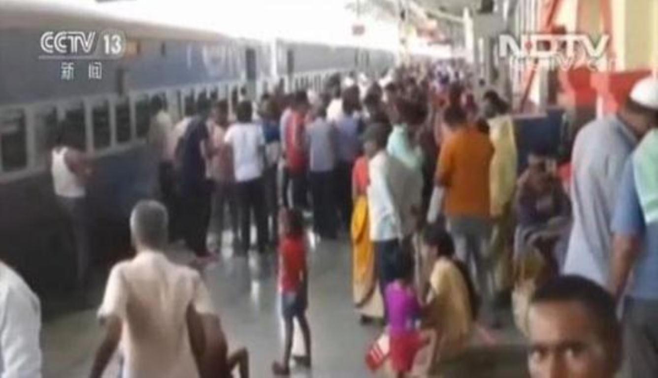 印度火车热死四名乘客 这四名乘客都是老年人