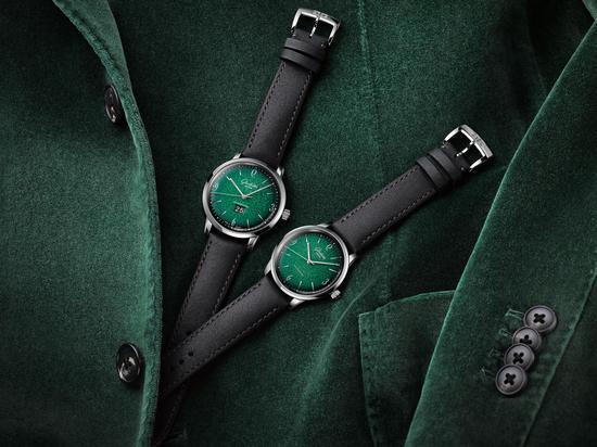 魅影绿光 格拉苏蒂原创Sixties六零年代腕表