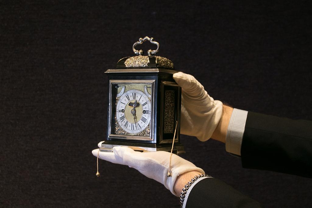 """""""皇家Tompion钟""""即将被拍卖"""