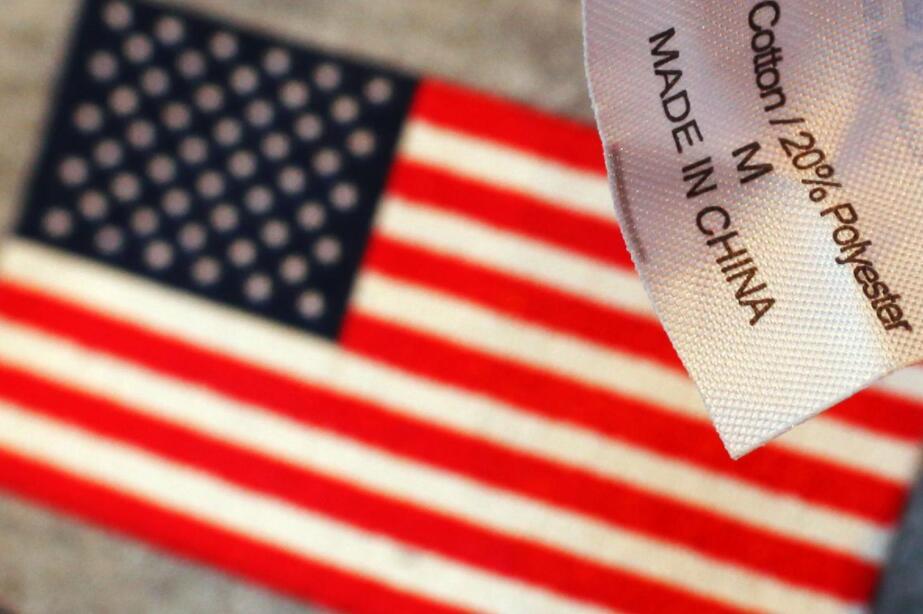 若再对中国商品加征关税 美国消费者将多支出122亿美元