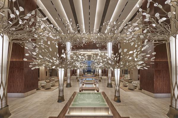 朱美拉文华东方酒店 摩登的设计和奢华的环境