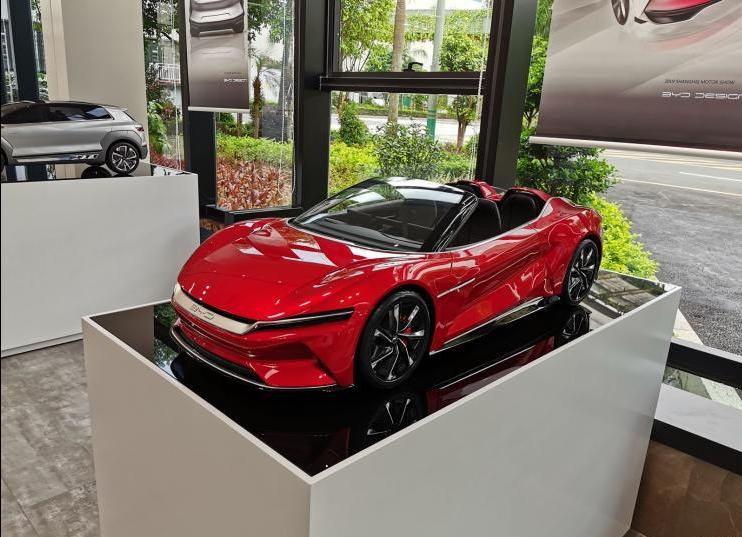 比亚迪e-SEED GT SPYDER曝光 造型超酷!