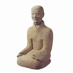 秦汉跽坐俑鉴赏