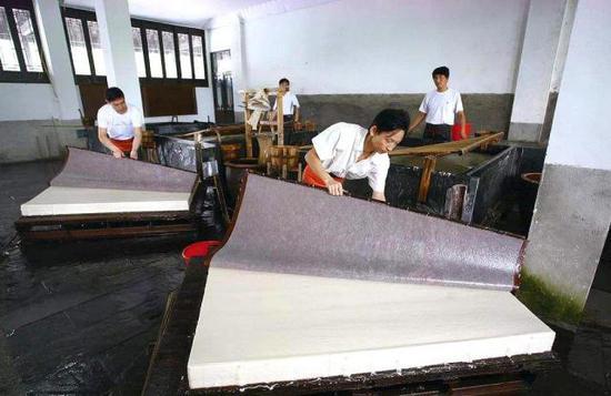 宣纸的产地及其工艺发展史