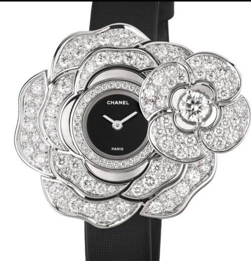香奈儿新品上市了 CAMéLIA系列珠宝腕表