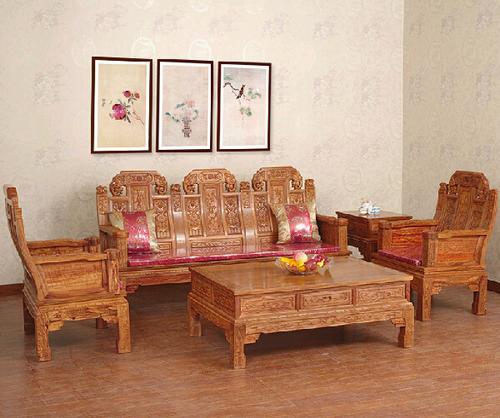 """""""傲诗红木沙发SAS03""""一套红木家具价格"""