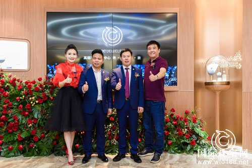乾昌珠宝高端定制中心揭幕仪式开启