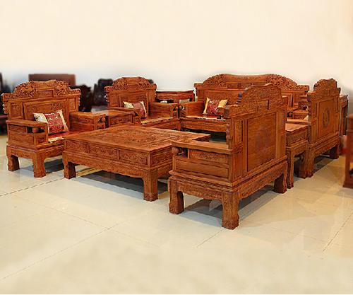 """""""卓匠红木沙发SF0444""""一套红木家具多少钱?"""