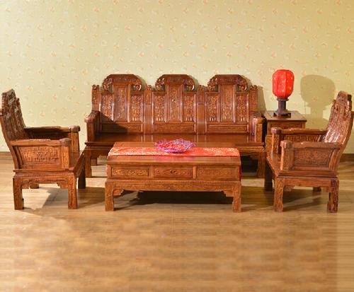 """""""兰之阁红木沙发LJ27""""一套红木家具多少钱?"""
