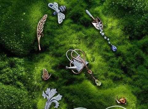 尚美巴黎Le Jardin des Délices de Chaumet系列 为你搭建一个枝繁叶茂的花园