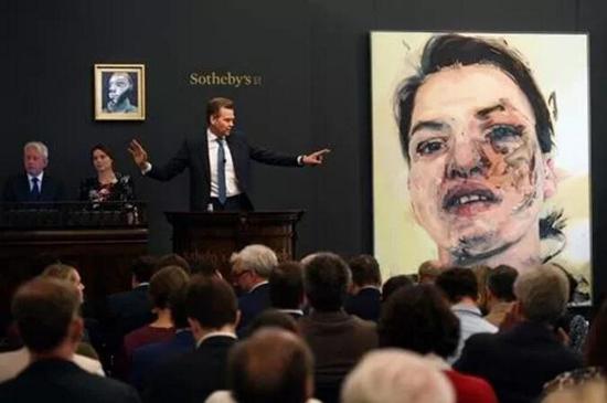 培根自画像以1650万英镑登顶伦敦当代艺术晚拍