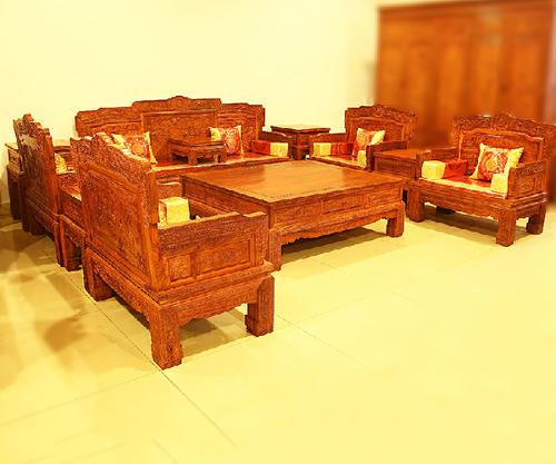 """""""卓匠红木沙发SF0422""""一套红木家具多少钱?"""