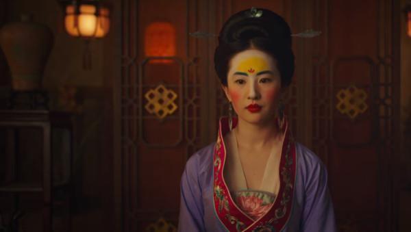 刘亦菲花木兰妆容 被骂丑 其实高度还原