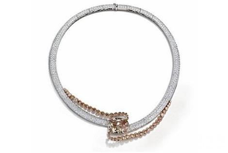 瑞士珠宝品牌 de Grisogono珠宝新品 流线型轮廓勾勒出充满雕塑感