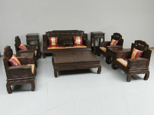 """""""雅依格红木沙发5061""""一套红木家具多少钱?"""