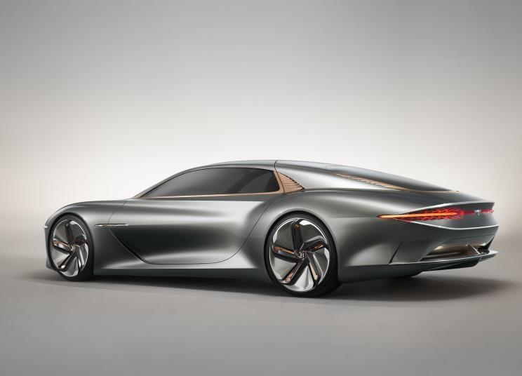 100周年之际 宾利EXP 100 GT概念车亮相