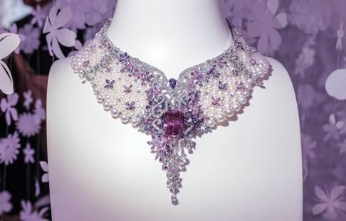 MIKIMOTO发布全新高级珠宝系列Jardin Mystérieux