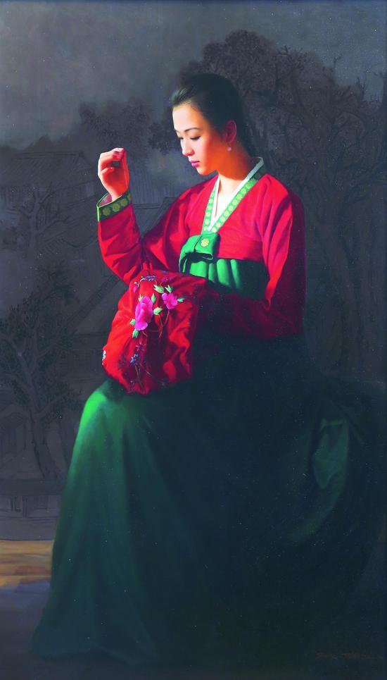 """""""同源异彩--中国、朝鲜著名艺术家作品联展暨拍卖会""""在昆山艺术宫举办"""