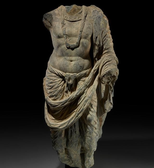 大英博物馆将归还一批从阿富汗走私的4世纪佛头