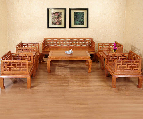 """""""兰之阁红木沙发LG-J02""""一套红木家具多少钱?"""