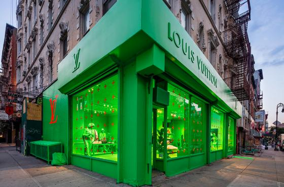 LV于纽约开设 Pop-Up 期限店铺 史上最绿