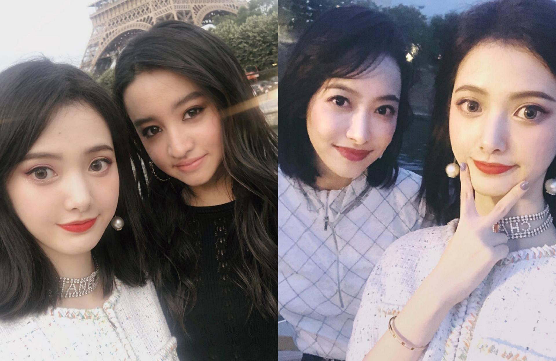 宋茜木村光希合影  两大美女谁更胜一筹?