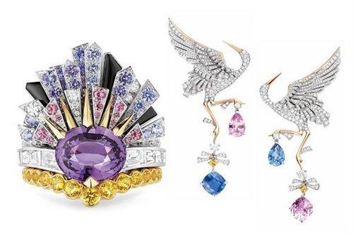尚美巴黎Chaumet以天空宇宙为主题推出Les Ciels de Chaumet高级珠宝系列