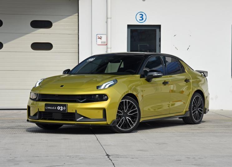 领克03的性能版车型 将于8月2日正式公布售价