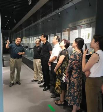 九三学社省市领导莅临西安柴窑博物馆馆考察调研