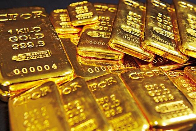 欧市盘前多头变怂?黄金自六年高点回落