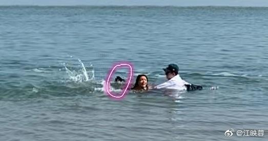 江映蓉拍MV险出事 自认为水性不错在水里完全使不上劲