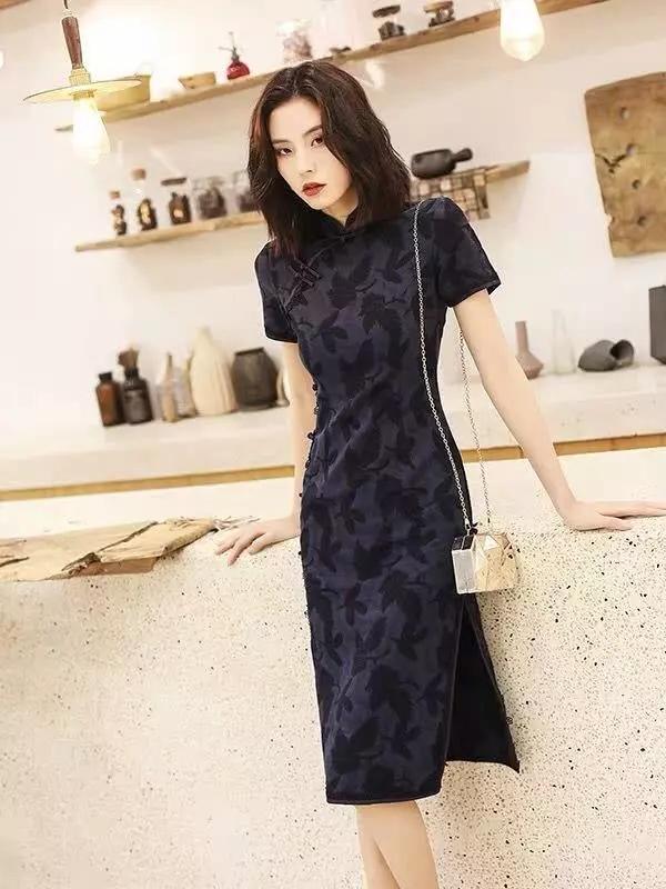 国民老上海的旗袍 今年也忒流行了!