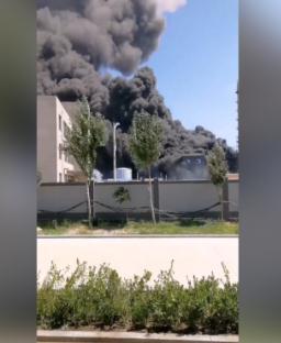 葫芦岛化工厂起火致2死 事故原因仍在调查中