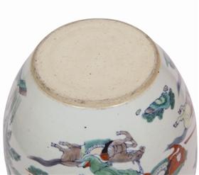 清早期景德镇窑的文房案缸鉴赏