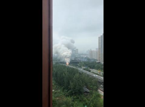 成渝立交附近爆炸 人员伤亡情况暂时不明