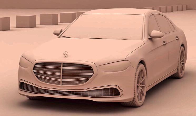 风格大变 新一代奔驰S级假想图曝光