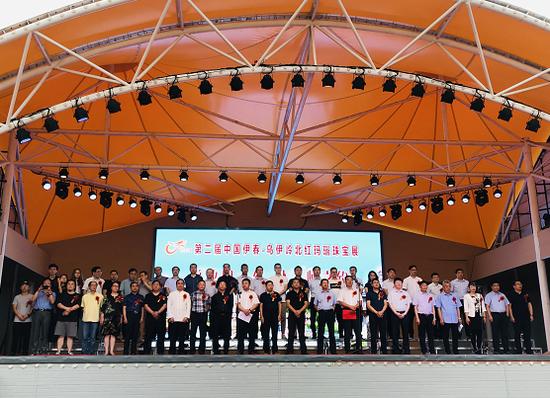 第二届中国伊春·汤旺·乌伊岭红玛瑙珠宝展盛装开幕