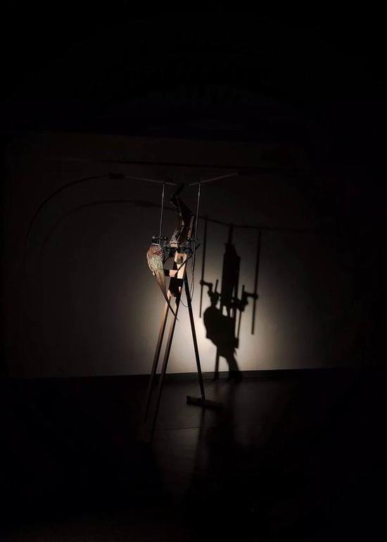 """""""人机艺术计划II:人机合一""""展 打破艺术描摹和反映现实的模式"""