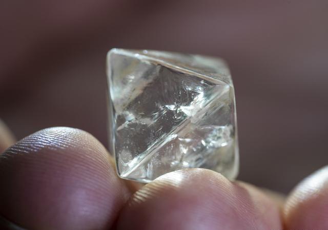 澳大利亚 Argyle钻石矿发现一颗28.84ct的宝石级钻石原石