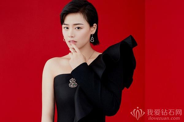 高级珠宝品牌Qeelin推出全新限量版Wulu Bamboo Lace项链