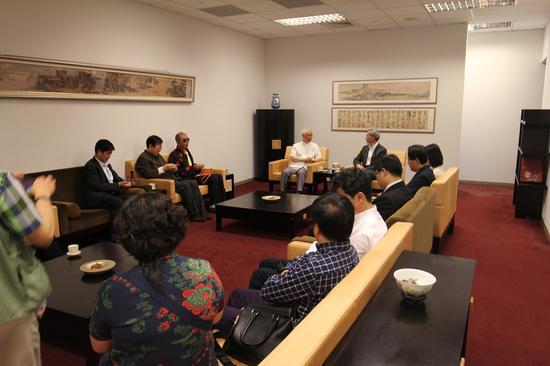 故宫景泰百宝再造工程研讨会在台北故宫博物院举行