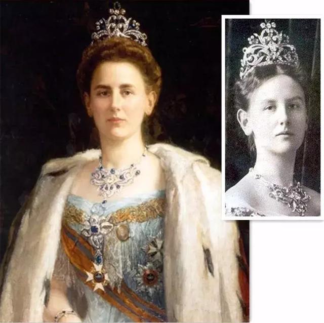 """荷兰王室大名鼎鼎的斯图亚特套装 一套珠宝""""养活""""整个王室的女人"""