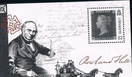 世界上第一枚邮票黑便士的来源和故事
