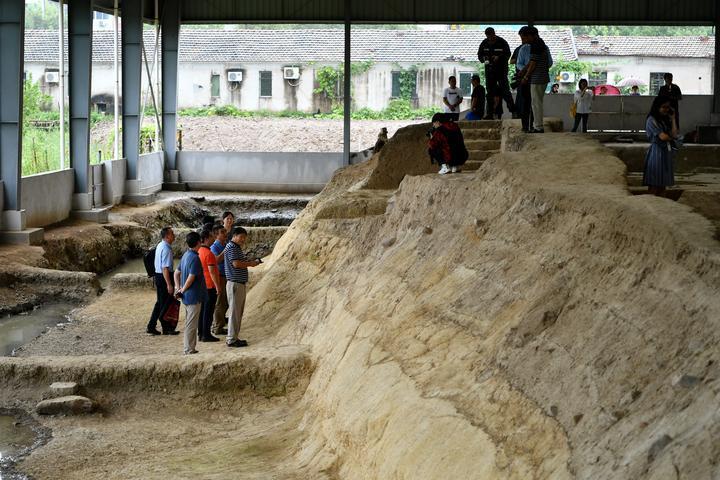 浙江省境内迄今为止最早的完整人类遗骸