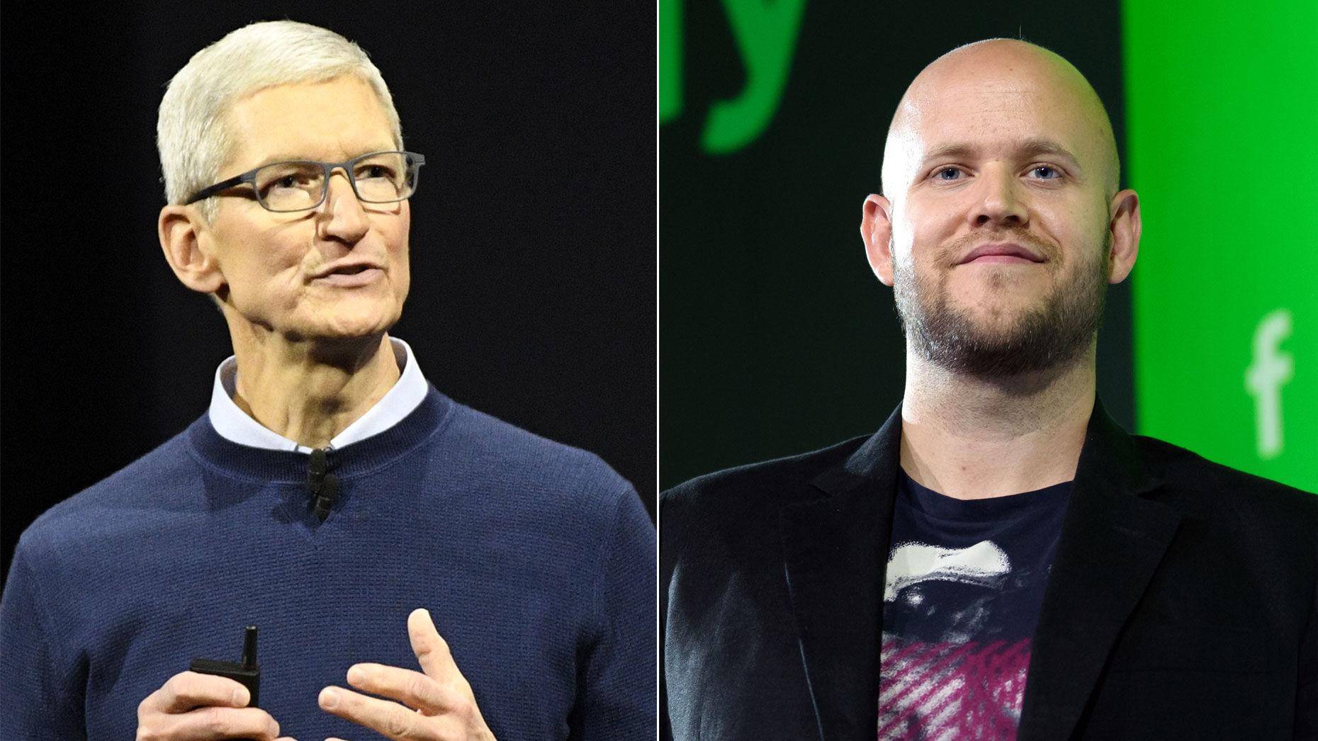 传Apple妥协 Siri或兼容Spotify服务