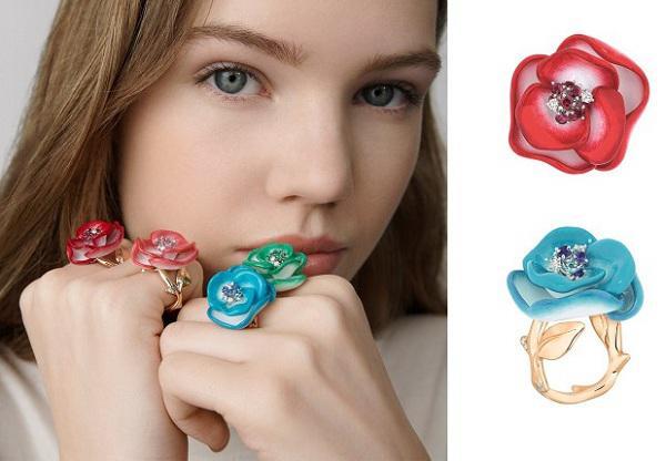 迪奥高级珠宝部成立二十周年纪念作品——Rose Dior Pop系列