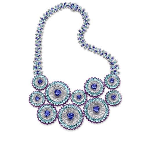 夜空中最亮的星 Chopard优雅非凡珠宝一套