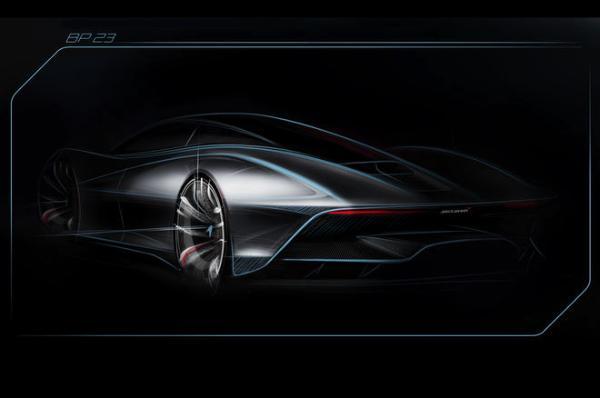 2020年首发迈凯伦 全新双坐敞篷超跑来袭