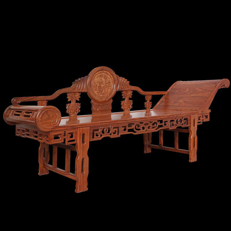 """""""净善堂中式贵妃椅沙发椅躺椅wj-12""""红木家具价格多少钱"""